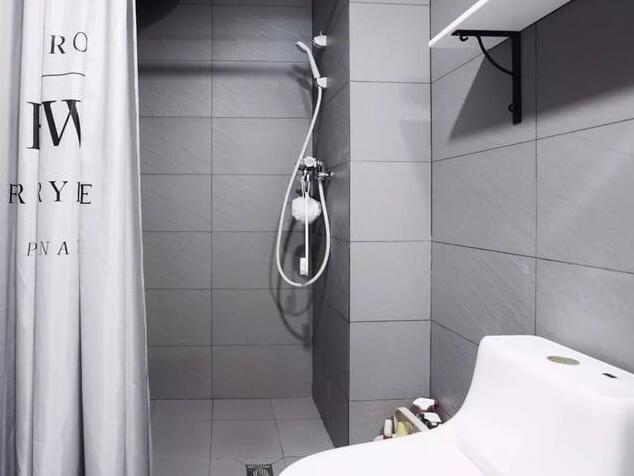番禺装修哪家好,看了这套48㎡小户型装修效果图就知道--卫生间装修效果图